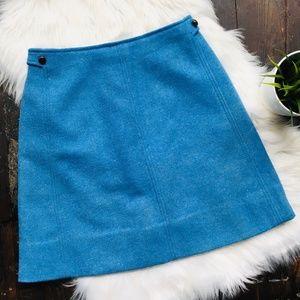 JOHN MEYER OF NORWICH VTG Wool A-Line Skirt SMALL